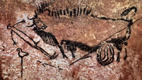 Painting from Lascaux Cave, France