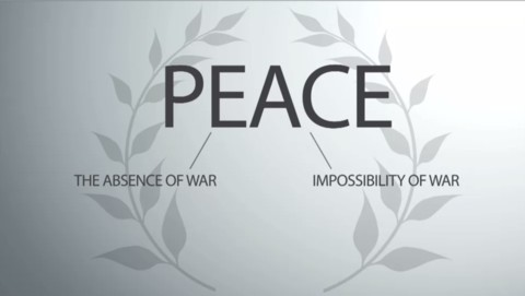The new definition of peace