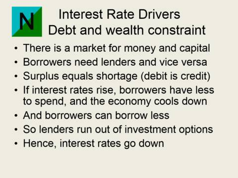 Debt and wealth constraint