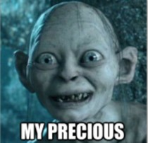 Lord Of The Rings character Sméagol