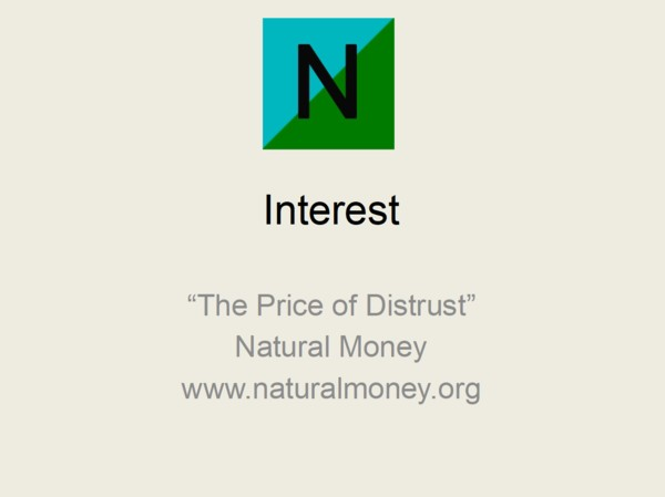 the price of distrust