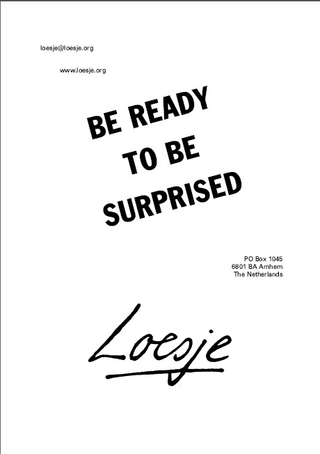 Loesje comment