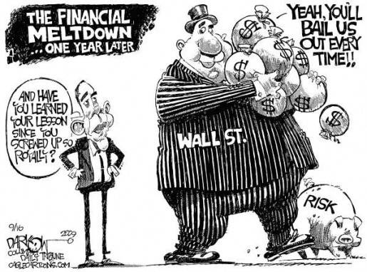 Figure 2: Wall Street Redux by John Darkow, Columbia Daily Tribune, Missouri