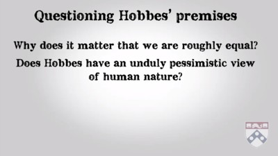 questioning Hobbes