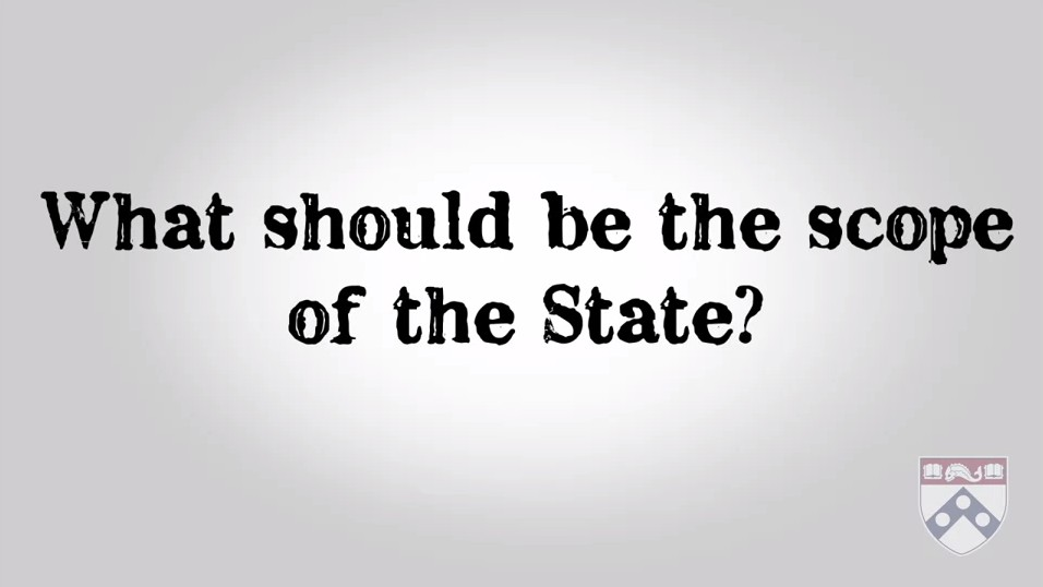 What should be the scope of the state?