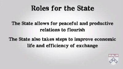 roles for the state