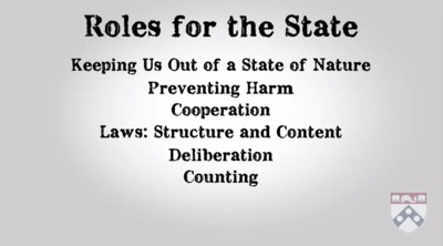 roles of the state