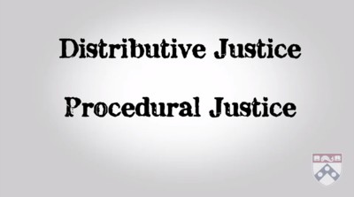 distributive versus procedural