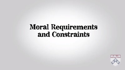 moral requirements