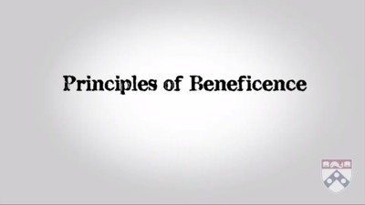 principles beneficence