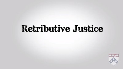 retributive justice