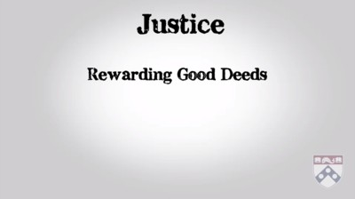 rewarding good deeds