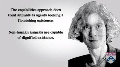 Martha Nussbaum's animal rights