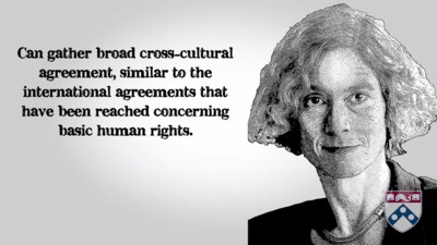 Martha Nussbaum's view