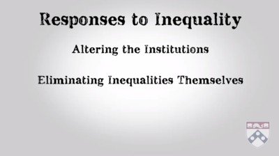 responses to inequality