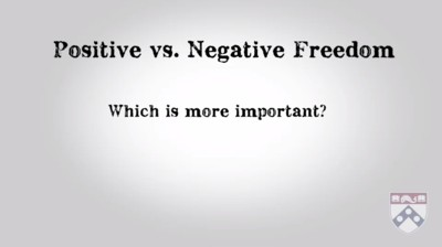 positive or negative freedom