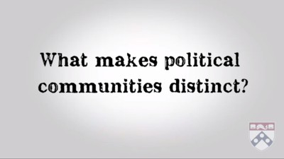 what makes political communities distinct