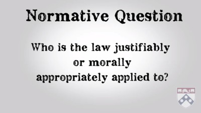 normative question