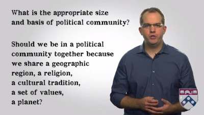 size and basis of the political community