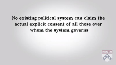 No existing political system can claim the actual explicit consent of all