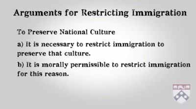 arguments for restricting immigration