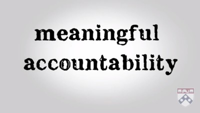 meaningful accountability