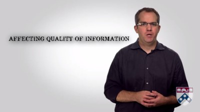 affecting quality of information