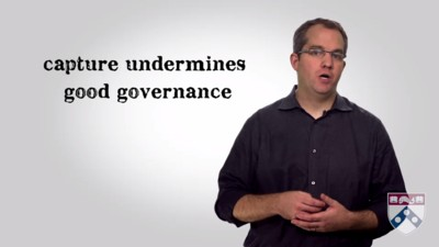 capture undermines good governance