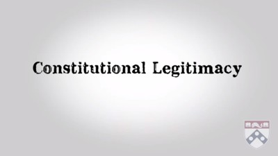constitutional legitimacy