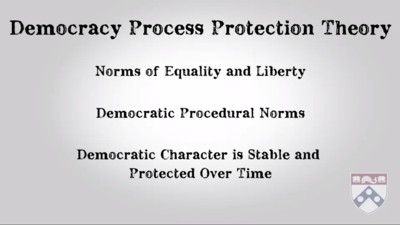Democracy Process Protection Theory