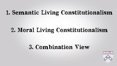 living constitutionalism views