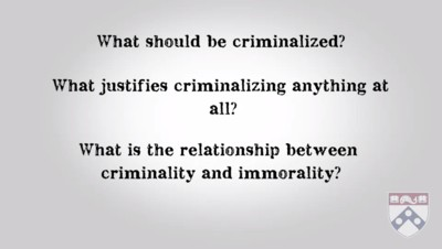 questions on criminalising