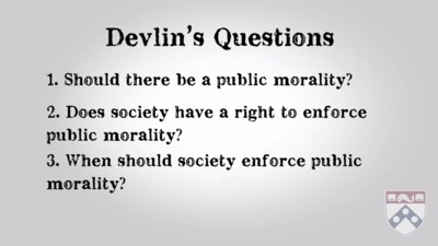 Devlin's questions