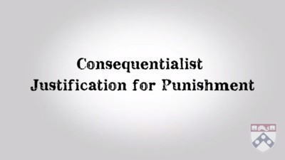 consequentionalist justification for punishment