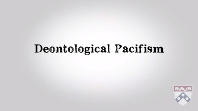 deontological pacifism