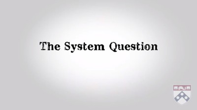 the system question