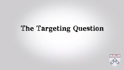 targeting question